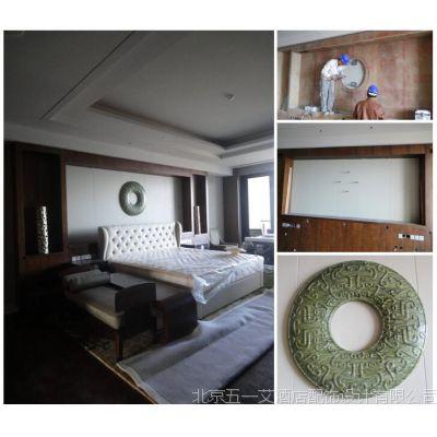 酒店陈设艺术品设计与文化之酒店玉石雕51A设计机构
