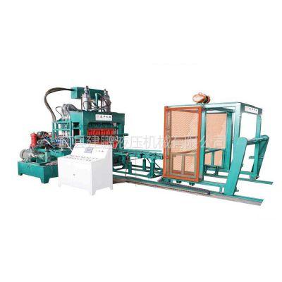 供应天津建鹏半自动免烧砖机、墙地砖机、黑龙江粉煤灰制砖机