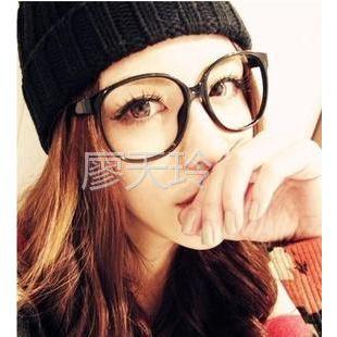 供应韩国圆圆大框复古阿拉蕾眼镜框 男女潮非主流圆形眼睛架9219