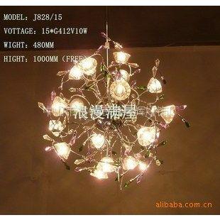 供应秒杀,田园风格系列水晶吊灯,灯具,餐厅灯,超值特价
