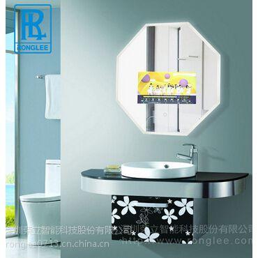 镜面防水电视/多边形防水电视/镜子电视机/卫浴镜面电视