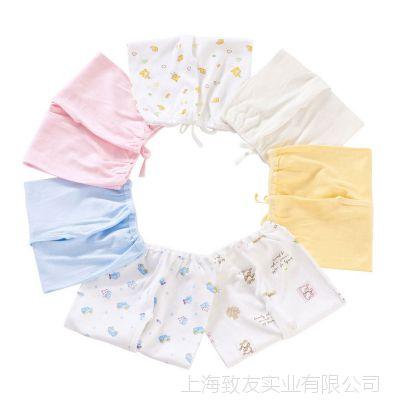 婴儿纯棉内衣套装宝宝纯棉秋装 新生儿系带0-3个月