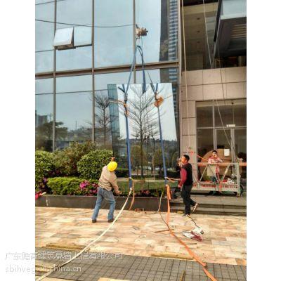 《专业外墙玻璃更换 拆除重难大小外墙玻璃》玻璃安装