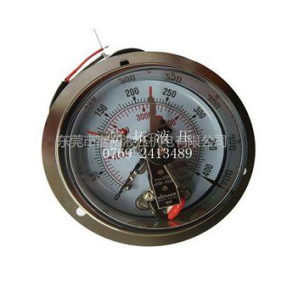 供应销售橡塑机专用配件 wiebrock电接点压力表