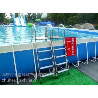 供应小区、绿地支架游泳池 厂家直销