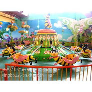 室内儿童乐园自控小蜜蜂游乐设施 郑州儿童游乐厂家