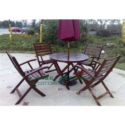 供应福州售楼部木桌椅,福州小区休闲座椅