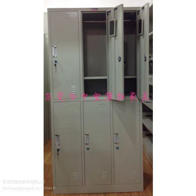 厂家供应员工更衣柜(款式新颖)工厂铁皮柜批发,6门更衣柜价格