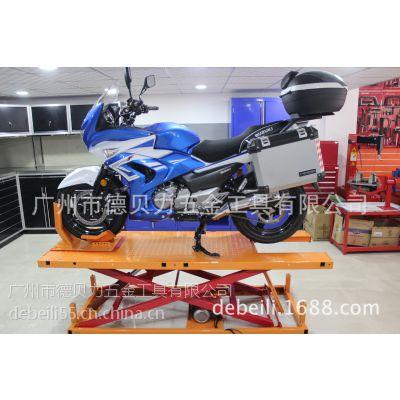 厂家直供大排摩托车举升机电动液压升降台升降机沙滩车维修平台AX-2011-4B