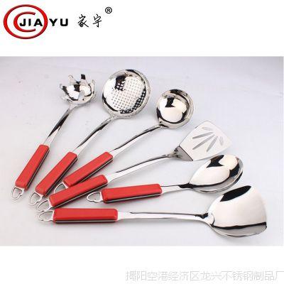 高档不锈钢厨具锅铲套装 烹饪漏勺  不锈钢厨房用品促销 批发