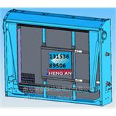 哈尔滨扬州亚星客车6106水箱中冷器配件