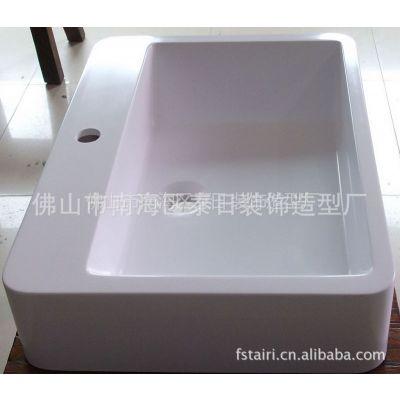 供应人造石家具新款上市TR-1160人造石洗手盆 人造石盆  人造石水槽
