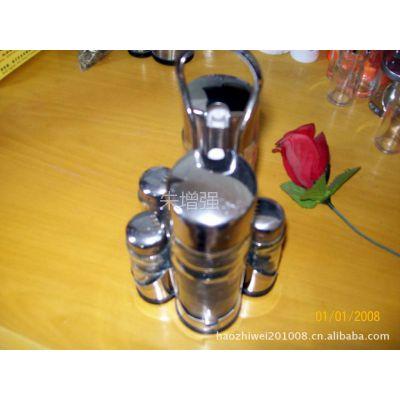 供应不锈钢多款套装调味瓶,多位组合方便使用,是厨房餐厅必备用品。