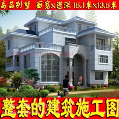 独特新颖三层舒适房屋设计图15.1x13.5米