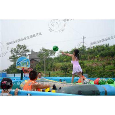 枞阳县移动水上乐园|河南沃金(图)|移动水上乐园价格