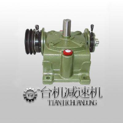 蜗轮蜗杆减速机带离合刹车器_WP减速机离合器制动器厂家