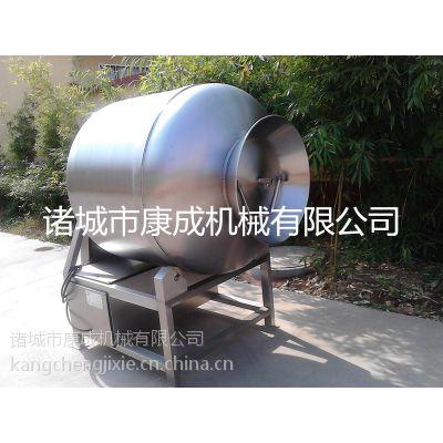 康成厂家促销酱腌菜滚揉机600L蔬菜蛋品入味机肉类按摩嫩化真空滚揉机
