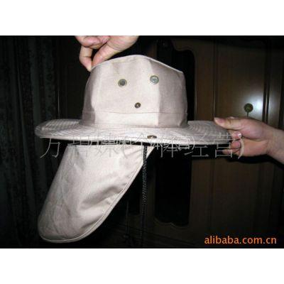 供应新款布制牛仔大沿两用帽/空顶帽/针织帽