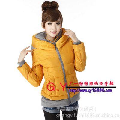 供应冬季女装棉衣批发 适合北方的冬季棉衣批发 时尚女装棉衣批发