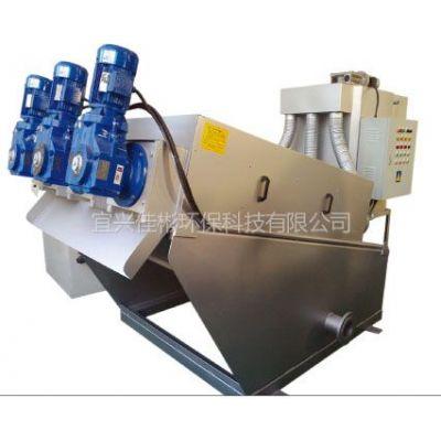 供应EX-414叠螺式污泥脱水机