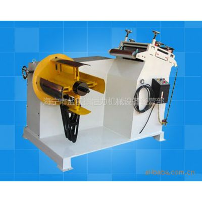 供应嘉兴恒力冲床周边二合一自动送料矫正机—海宁机械