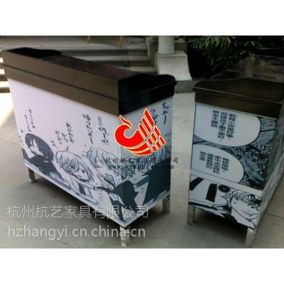 供应杭州实木备餐柜厂家/餐厅餐具柜款式/酒店餐饮家具储物柜图片