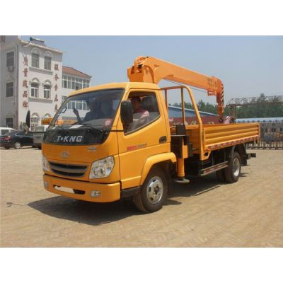 厂家3吨2吨随车吊价格唐骏小型随车起重运输车厂家报价多少钱