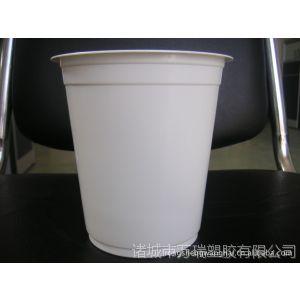 供应直供一次性意大利风味面乳白PP塑料杯,PP印刷塑料杯