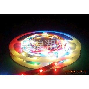 供应裸板不防水RGB全彩30灯/米SMD3528贴片软灯条 软灯带