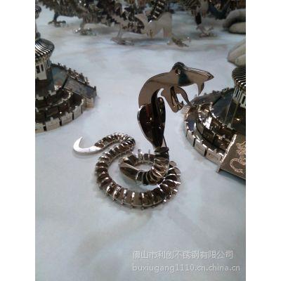 供应镀色复古仿真不锈钢工艺品 办公室摆件 送礼佳品不锈钢制品厂家