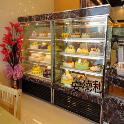 供应安德利 立式大容量蛋糕保鲜柜 西点柜 冷藏展示柜(D1)