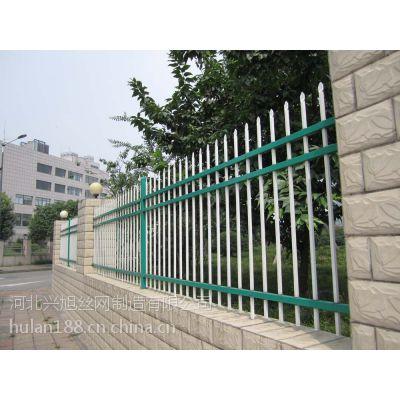 锌钢方管护栏@河北燕郊小区厂区围墙护栏生产厂家