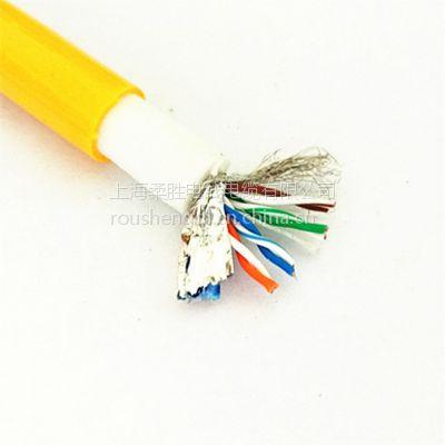 超五类漂浮网线电缆/ 双绞屏蔽防海水零浮力网线电缆/ 浮力电缆定制