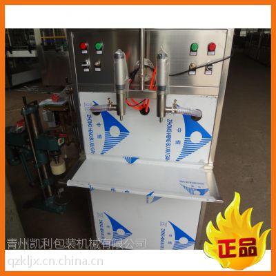厂家直销半自动两头活塞式灌装机 油类灌装机 粘稠液体灌装机