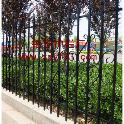供应铁艺栏杆围栏 比水泥结实的栏杆  铁艺护栏 铁艺栅栏