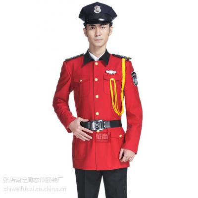 淄博保安春秋常服订制|临沂标志服装厂|滨州保安服装价格