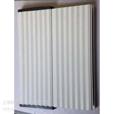 厂家供应重型豪华铝合金卷帘门,抗风性强铝合金门