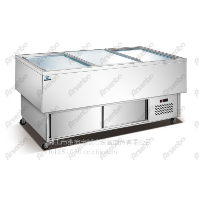 雅绅宝不锈钢制冷产品 海鲜展示柜 海鲜酒楼保鲜柜 直冷海鲜柜
