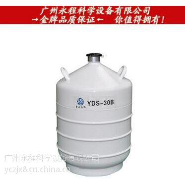 四川亚西 30L液氮容器 运输贮存两用低温设备储存罐 YDS-30B