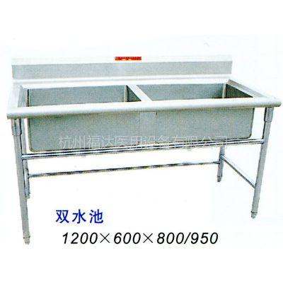 供应厨房设备- 各种水池 (选用优质不锈钢制作)