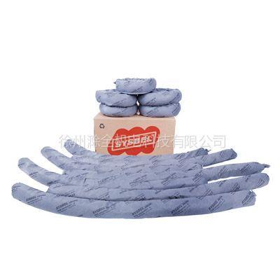 供应通用型吸附棉条US0001G 深灰色/吸附容量:21.4加仑(80.8升)每箱/12根每箱