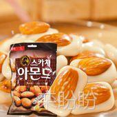 韩国原装进口食品批发 韩国乐天杏仁糖 20袋/箱