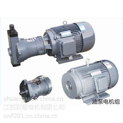 平头上海油泵厂专供配套液压马达11KW卧式济南辽宁液压机械设备液压系统供应电机