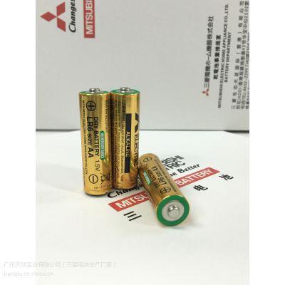 生产厂家直接供应三菱5号碱性干电池 AA LR6玩具 电动工具 防盗器报警器专用电池