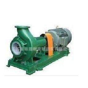 供应IHF衬氟塑料泵 F46材质适用的化学介质 密封不泄漏的化学工业泵