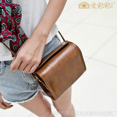 广州女包批发2014森女秋季新款女士包包女复古女包迷你时尚邮差包