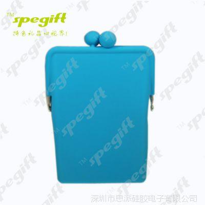 硅胶手机包 韩版糖果色零钱包 钥匙包 卡包 厂家批发