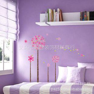 供应潘多拉树批发三代透明墙贴哑光玻璃贴纸可重复反复贴幸福树 LD614
