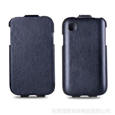 冷定型上下翻LG L40手机保护套 订做LG L40手机皮套厂家直销