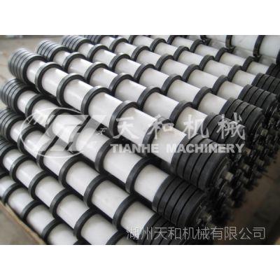 供应 梳形托辊 自清扫回程托辊 梳形辊子 生产加工 浙江湖州